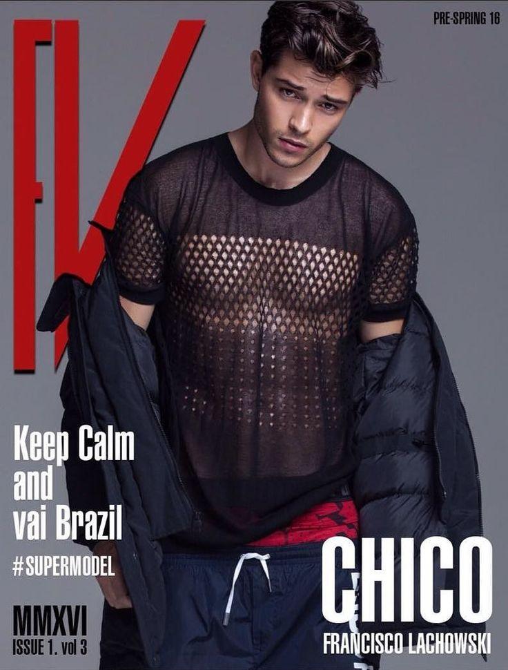 Francisco Lachowski en portada de FV Magazine Pre-Spring Issue 2016
