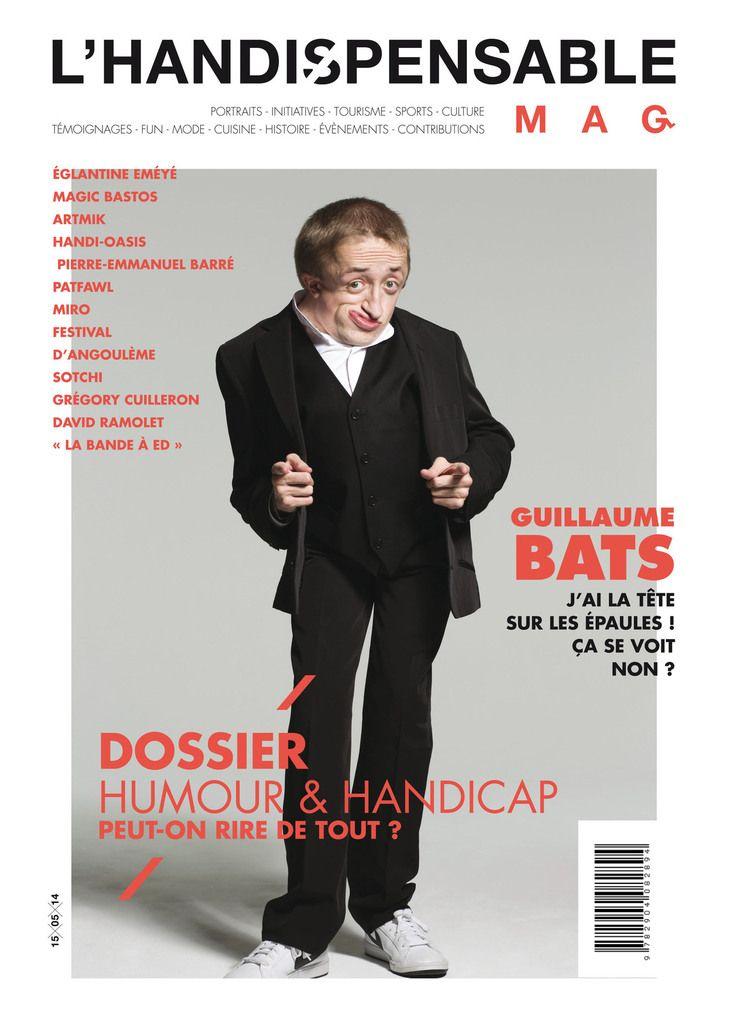 Handispensable - Un nouveau magazine sur le handicap, la culture et le tourisme #handicap #culture #humour