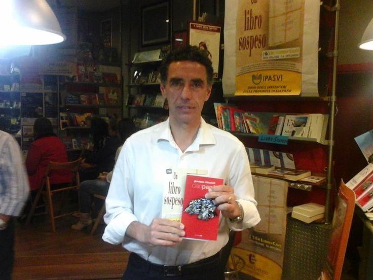 Fionda dal Cilento l'abbraccio del sindaco Eros LAMAIDA alla magia del @LibroSospeso un progetto che affascina