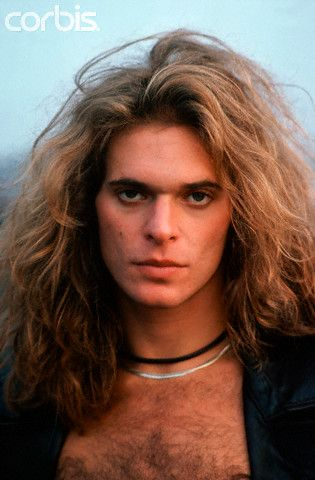 David Lee Roth, yes ladies there was time when he was hot, still one of the best front men that I had the privilege of seeing live.