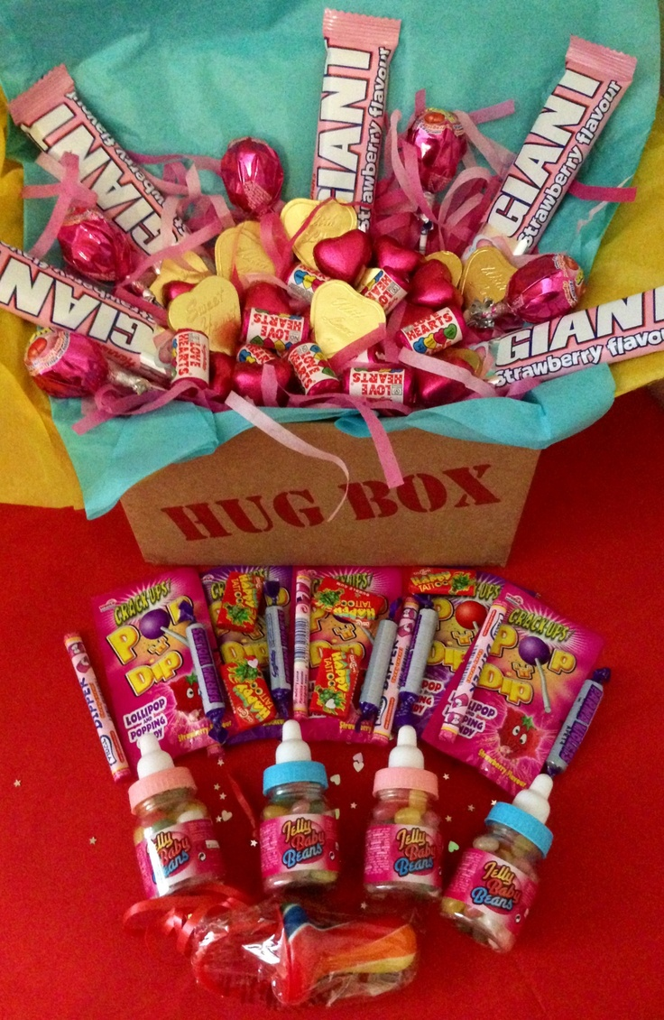 Baby Shower Party Hug Box Only £10 Filled With #sweets