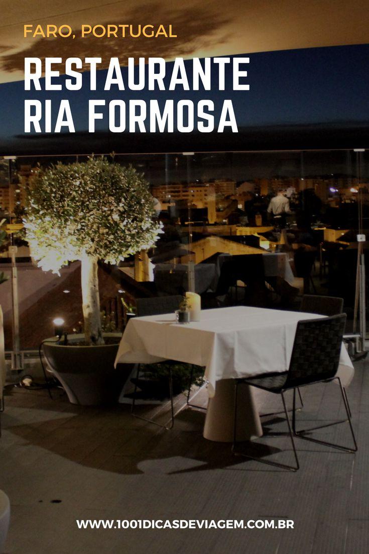 Review do Restaurante Ria Formosa em Faro, Portugal.