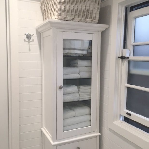 where to put the dry clean folded towels in your bathroom space see