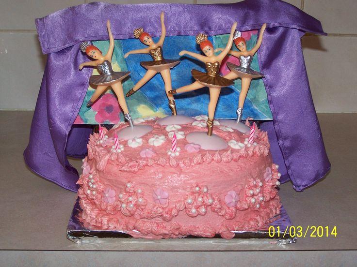 Ballerina Stage Cake