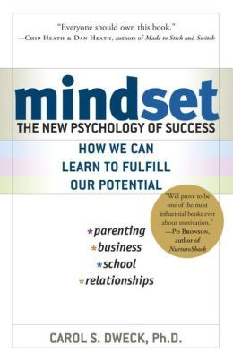 Mindset: The New Psychology of Success by Carol Dweck via brainpickings: Dweck explains why it's not just our abilities and talent that bring us success–but whether we approach them with a fixed or growth mindset. She makes clear why praising intelligence and ability doesn't foster self-esteem and lead to accomplishment, but may actually jeopardize success.... #Book #Psychology #Personal_Transformation #Business #Parenting