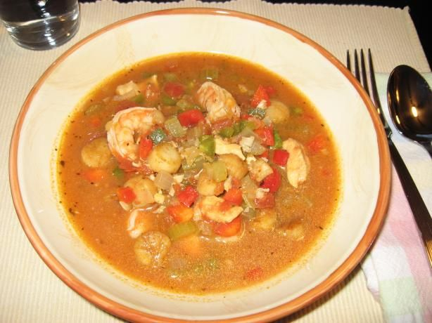 Seafood stew crock pot recipe scallops pots and fish for Crock pot fish stew
