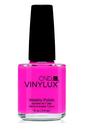 Progettato per durare oltre una settimana.  Smalto Professionale Vinylux weekly polish Summer Brights col. Pink Bikini, CND (disponibile presso i saloni CND Shellac)