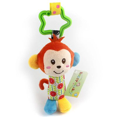 Registered Air Mail Hot Sale New Infant Toys Mobile Baby Plush Toy Bed Wind Chimes Rattles Bell Toy Stroller for Newborn CG82501