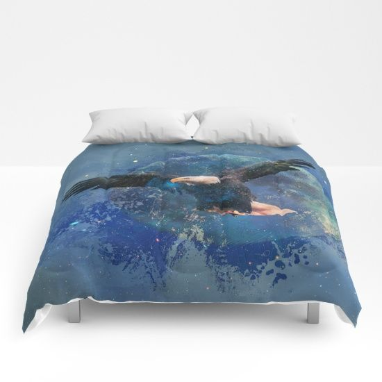 Free Shipping on Everything Today!  15% Off All Home Decor +  Our comforters are cozy, lightweight pieces of sleep heaven. Designs are printed onto 100% microfiber polyester fabric for brilliant images and a soft, premium touch. Lined with fluffy polyfill and available in king, queen and full sizes. Machine washable with cold water gentle cycle and mild detergent.