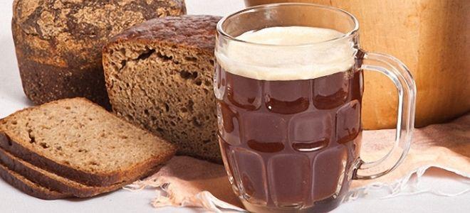 квас из ржаного хлеба в домашних условиях