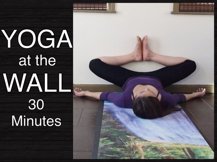 Yoga Upload with Maris Aylward - This is a gentle yoga practice at the wall for the lower back, hips, inner thighs, and hamstrings. This stretch routine will...