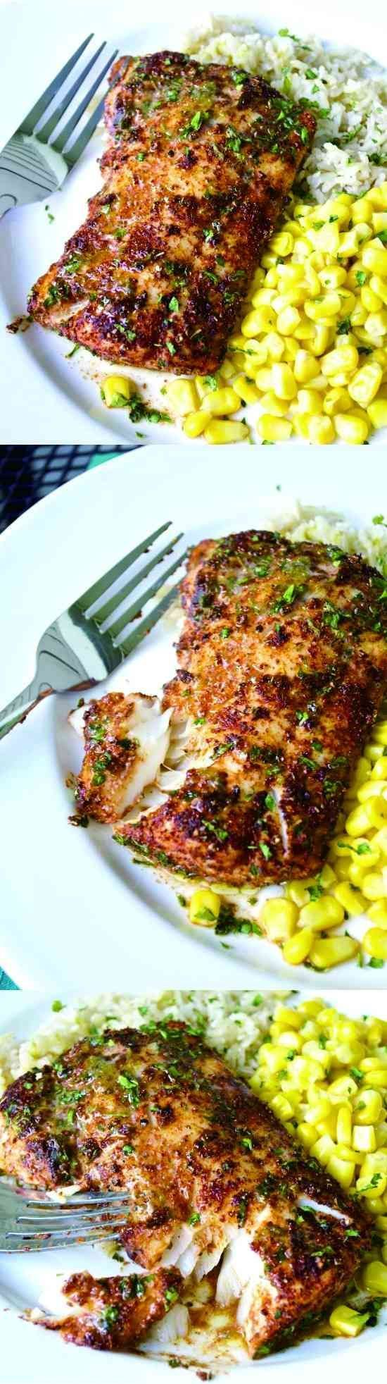 Roasted Chili-Lime Cod - black pepper, garlic, healthy, paprika, recipes