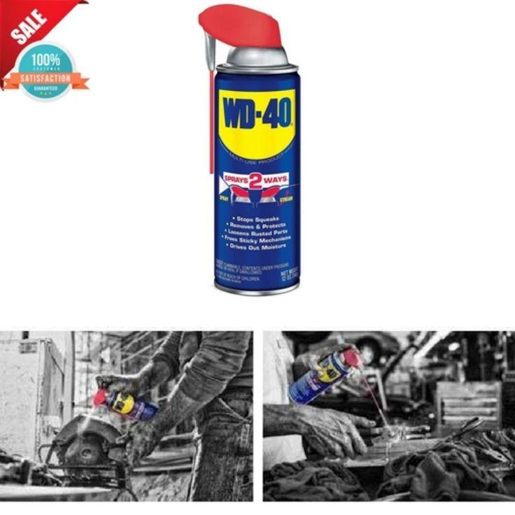 WD-40 Rust Prevention Spray Multi-Use w/ Smart Straw Locksmith Maintenance Tools #WD40
