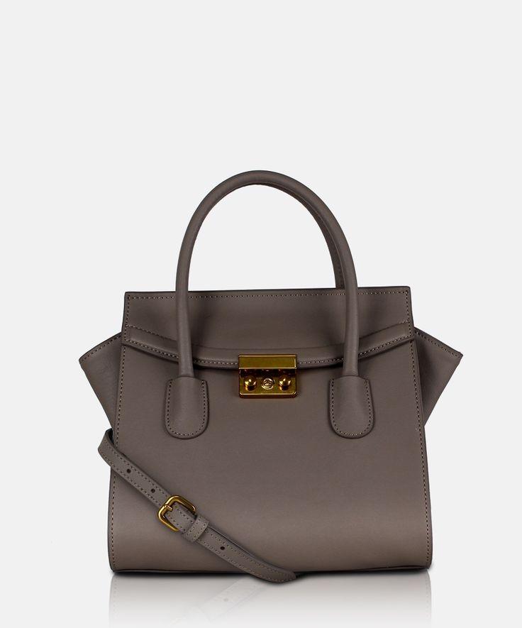 Bag GA Marcato D 13G 0433 Camel Mini leather handbag by Giorgio Agnelli