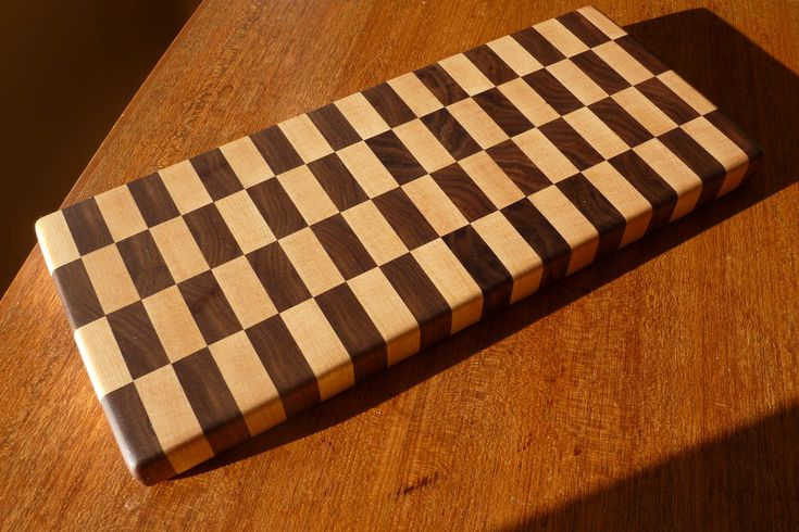 DIY End Grain Cutting Board Plans PDF Download woodworking small bookcase simple project ...