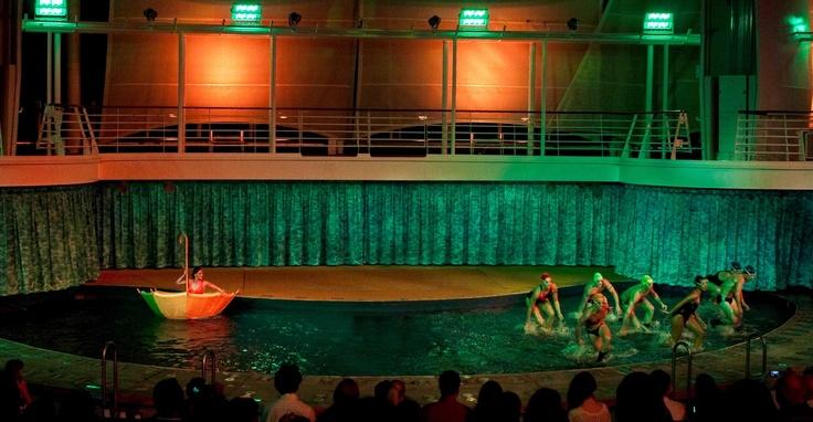 You've never seen a theater like this before! #AquaTheater: Royal Caribbean, Caribbean Cruise, Aquatheater