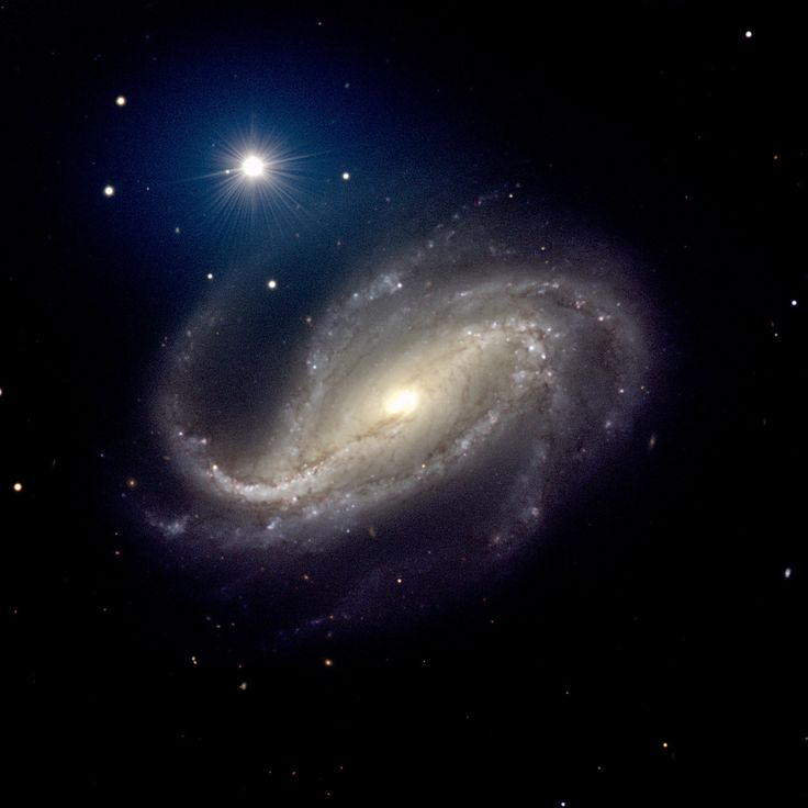 The barred spiral galaxy NGC 613 js
