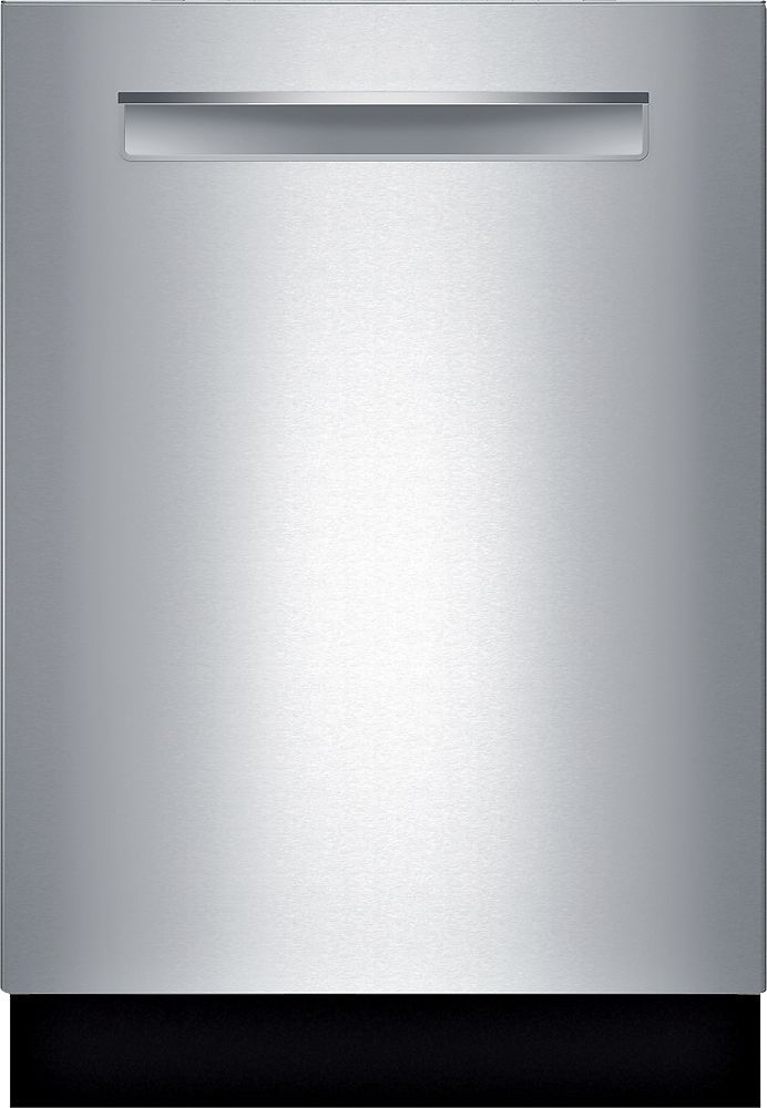 "Bosch - 500 Series 24"" Pocket Handle Dishwasher with Stainless Steel (Silver) Tub - Stainless Steel"