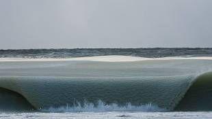 Onde ghiacciate a Nantucket