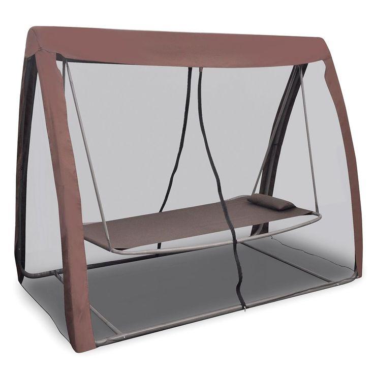 cama columpio hamaca tumbona colgante balancn macedora jardn con mosquitera ebay
