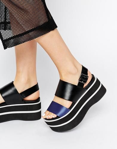 48 best flatform images on Pinterest | Shoes, Fashion shoes and Shoe