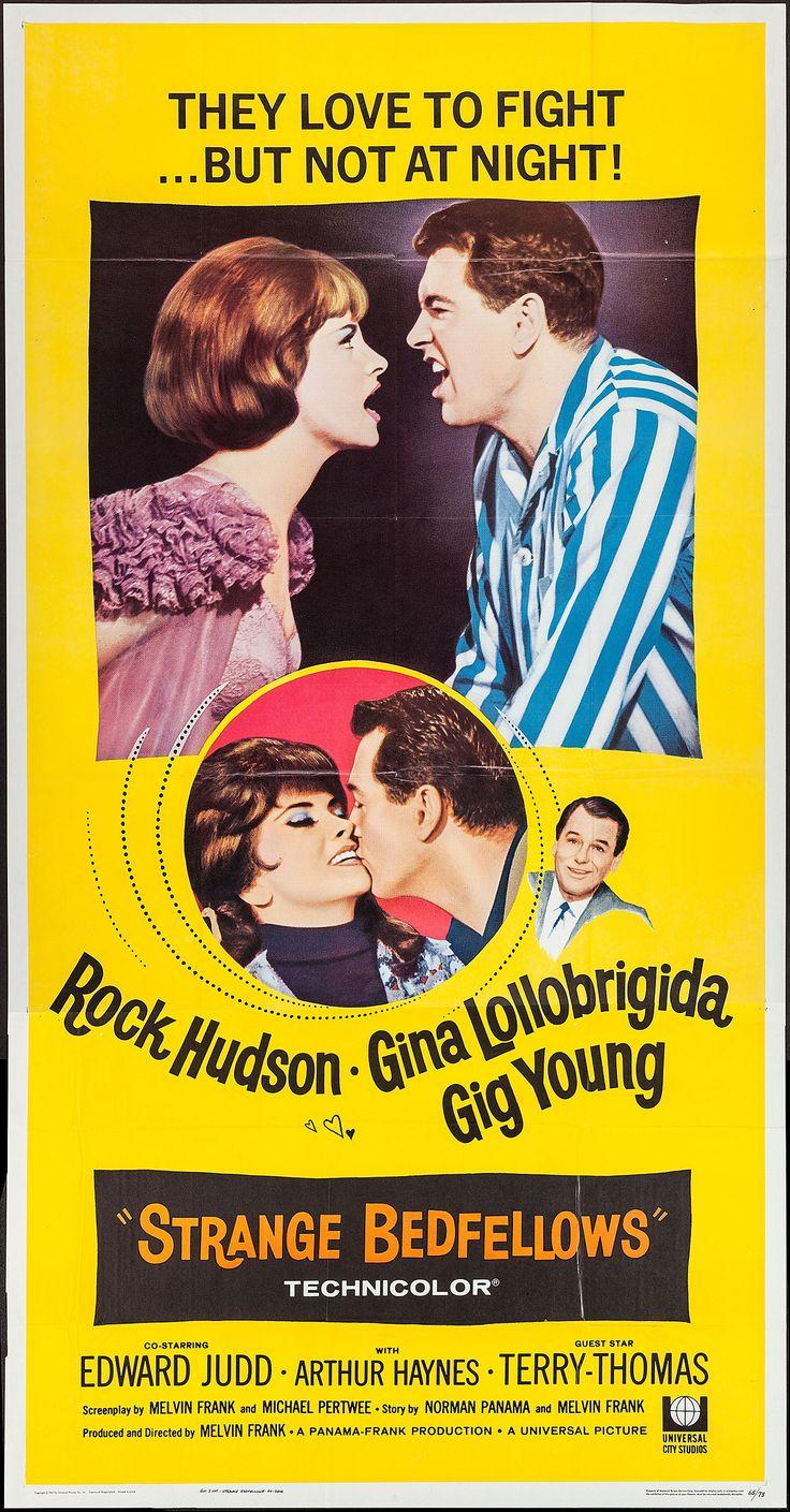 Strange bedfellows 1965 stars rock hudson gina lollobrigida gig young