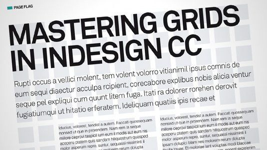 Mastering grids in InDesign CC