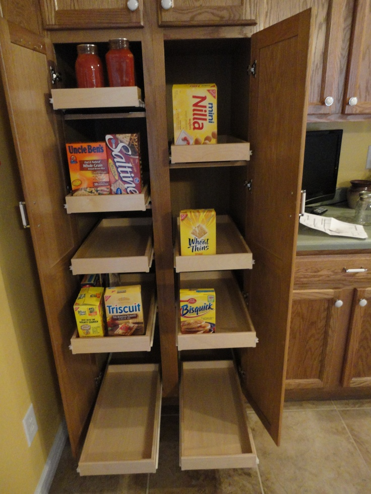 slide out kitchen cabinets 33 best pull out pantry shelves images on 26209