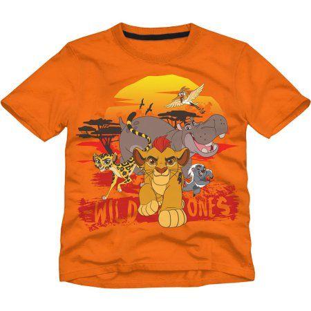 The Lion Guard Toddler Little Boys Wild Ones T Shirt