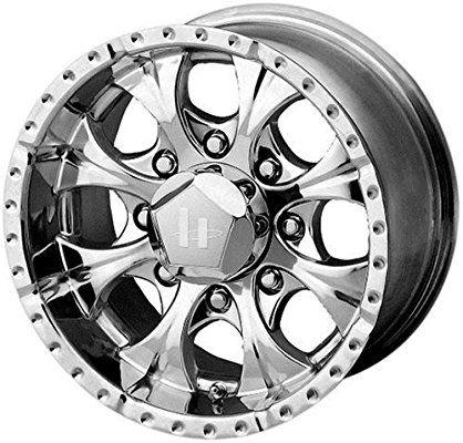 "Helo HE791 Maxx Triple Chrome Plated Wheel (17x9""/8x165.1mm, -12mm offset)"
