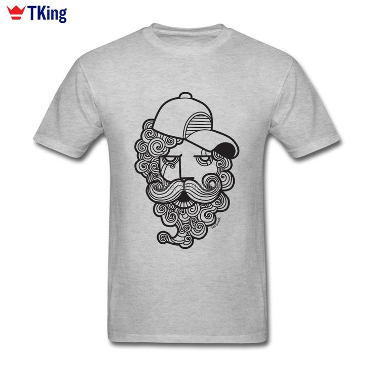 2017 New Fashionable Curly Hair Men T Shirt Cosplay Crewneck Cotton  3D T-Shirts XXXL Short Sleeve Custom Tops Tees #Affiliate
