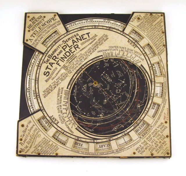 Robert Todd Lincoln's star and planet finder