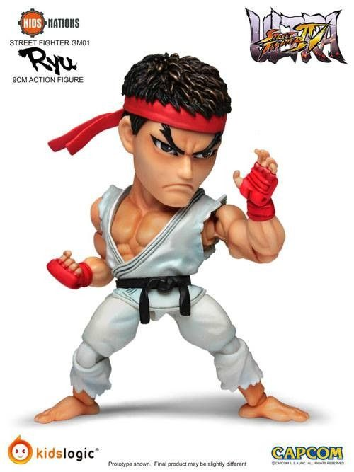 fei long street fighter 5 | Kids Logic - Kids Nations GM01 - Street Fighter - Ryu and Sakura