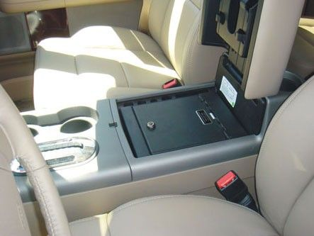 Ford F150 Floor Console Safe!