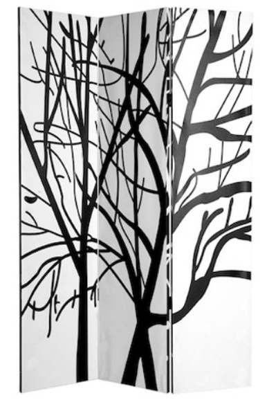Tranquility Room Divider in Black: Side Canvas, Tranquil Rooms, Side Rooms, Black 379 98, Tranquil Double, Rooms Dividers, Canvas Rooms, Double Side, Room Dividers