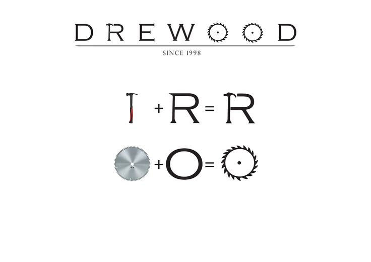 DREWOOD carpenter logo design on Behance