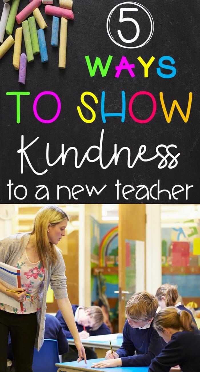 5 Ways to Show Kindness to the New Teacher: Tips to Help Welcome New Teachers in Your School! - Kreative in Life