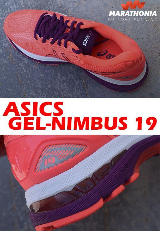 Las zapatillas running ASICS GEL NIMBUS 19 para mujer son muy ligeras y ofrece al mismo tiempo comodidad y ajuste. Muy duraderas.-Para pisada neutra. -Drop de 10mm. -ASICS GEL NIMBUS 19, fabricadas para asfalto. Compra el color que más te guste entre nuestra oferta de ASICS GEL NIMBUS 19 al mejor precio.#zapatillas #calzado #Asics #GelNimbus19 #Nimbus #running #mujer #deporte #shoes #marathonia