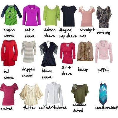 7 Best Ideas About Kinds Of Outfit On Pinterest Different Types Of Vocabulary And Sleeve