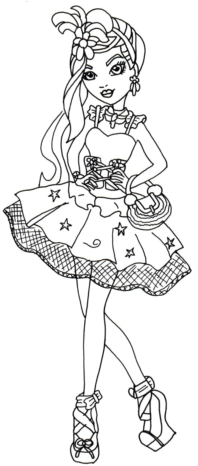123 best colouring pages images on pinterest ever after high