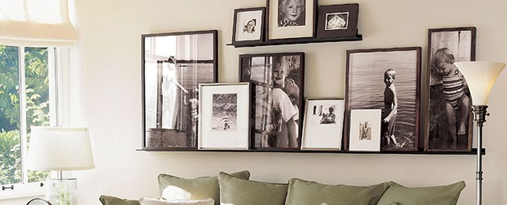 Frames for black and white photos.
