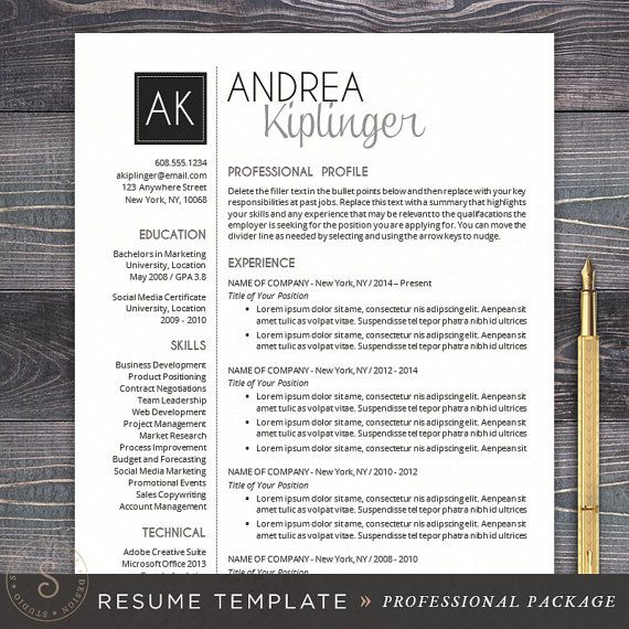 Best 25+ Free cover letter ideas on Pinterest Free cover letter - professional resume template free