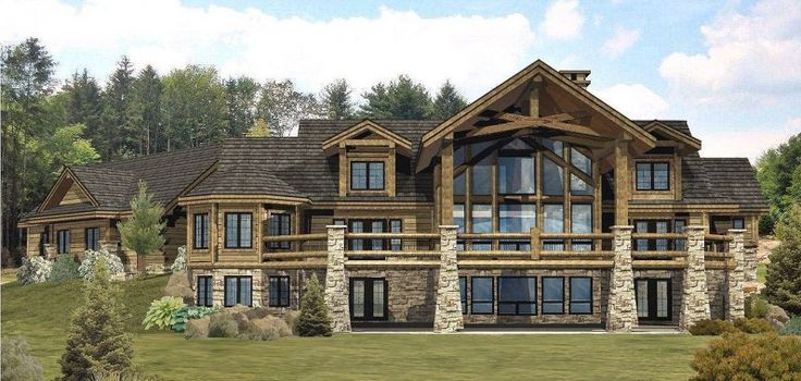 Jackson – Version II – Log Homes, Cabins and Log H…