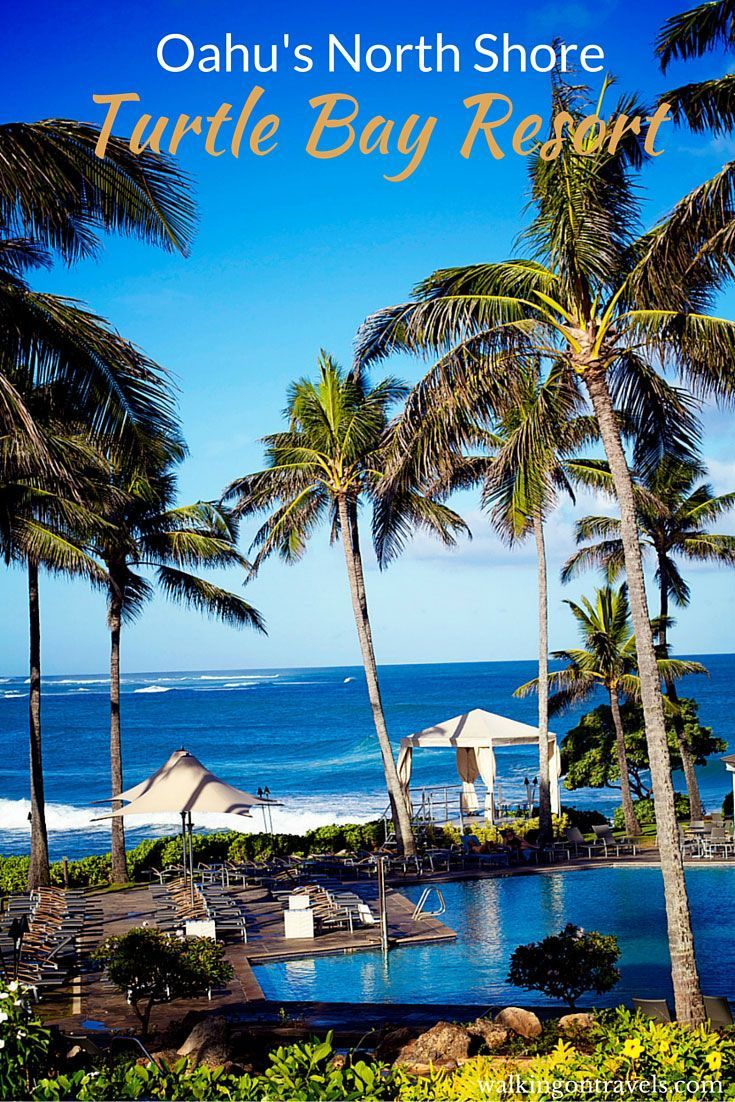 Turtle Bay Resort on the North Shore of Oahu Hawaii