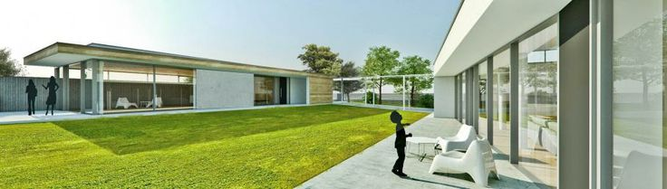 Dva bungalovy s átriom, Rakúsko | RULES Architekti