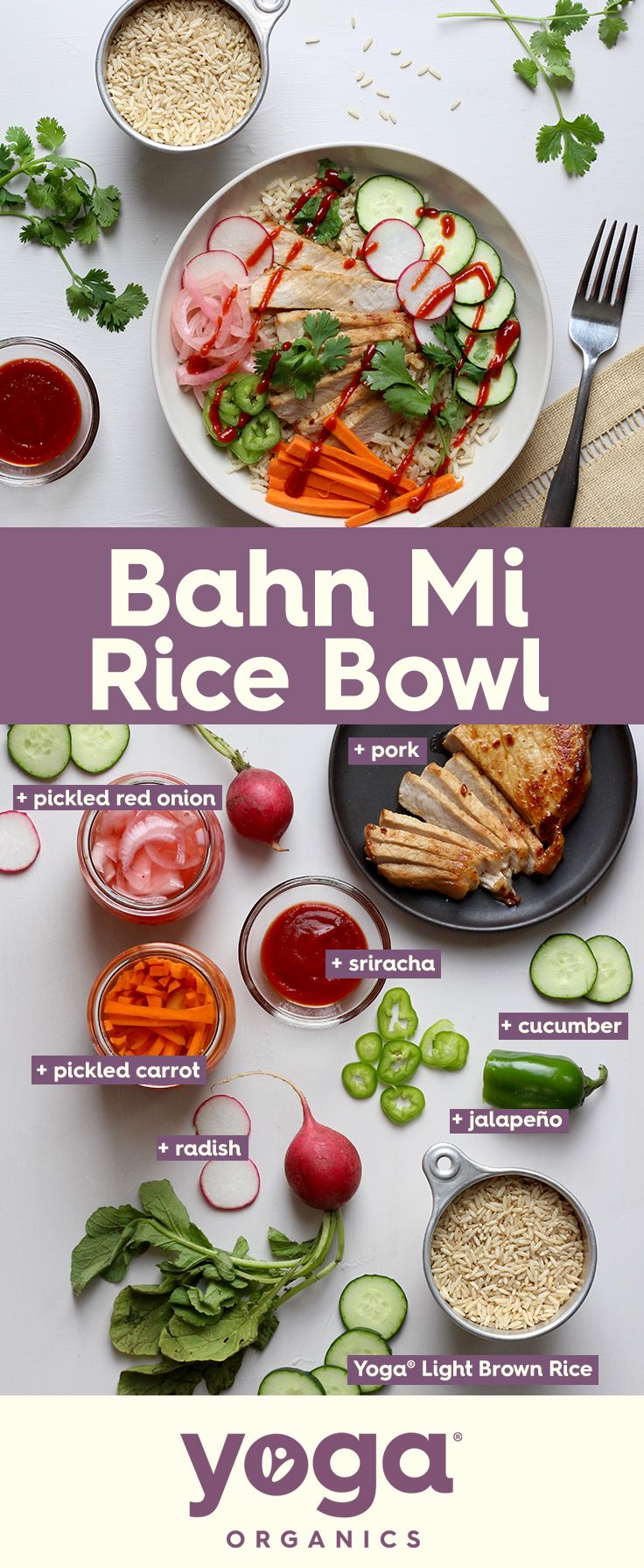 Fresh Crunchy Salty Sweet Spicy This Bhan Mi Bowl Has All The Flavors And Textures Of Your Favorite Vietnamese Sandwich In Delicious Rice Bowl Form