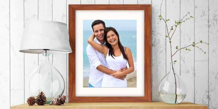 Dekorrahmen für dein Foto mit Passepartout. ✓ Digitaler Fotoabzug in bester Schärfe. ✓ Fertig eingefasst hinter Acrylglas. ✓