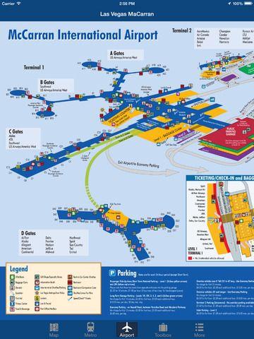 iPad App Las Vegas Offline Map - City Metro Airport | | ****