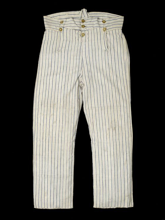 Sailor's trousers 1810.
