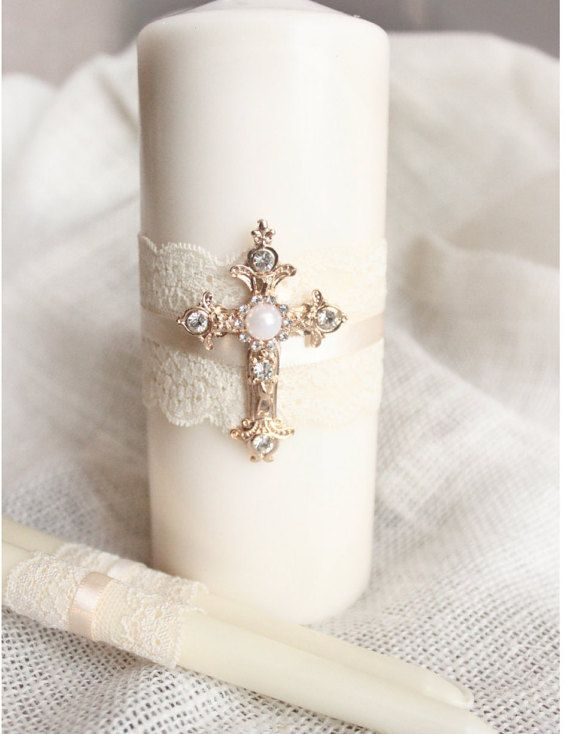 Hey, I found this really awesome Etsy listing at https://www.etsy.com/listing/247653525/unity-candle-set-gold-cross-candle-set